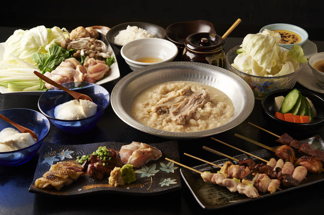 とりいちず食堂 川口東口店の鶏料理が満喫できるコース